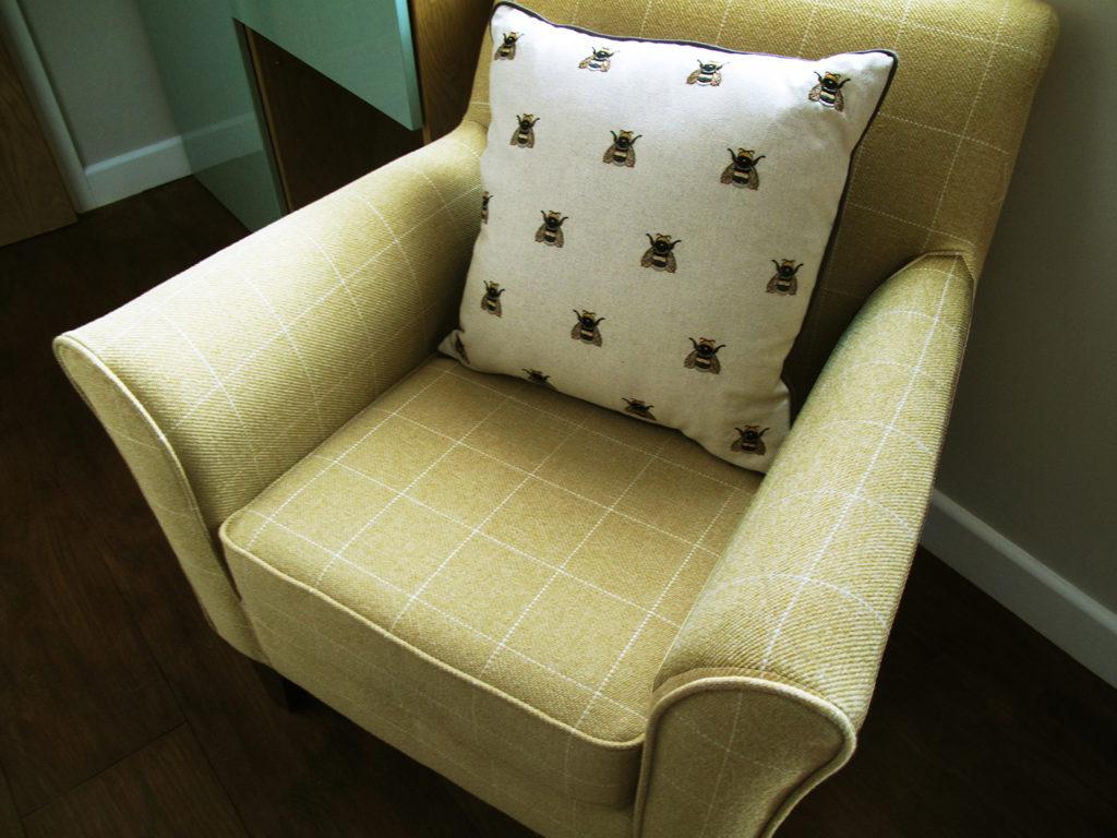 Ashdon armchair at Piglets Boutique B&B