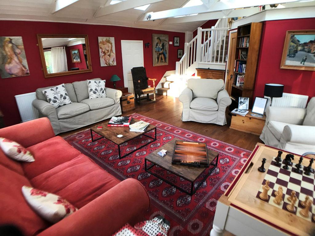 Guest Lounge at Piglets Boutique B&B