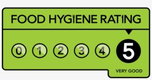 5 hygiene rating at Piglets Boutique B&B