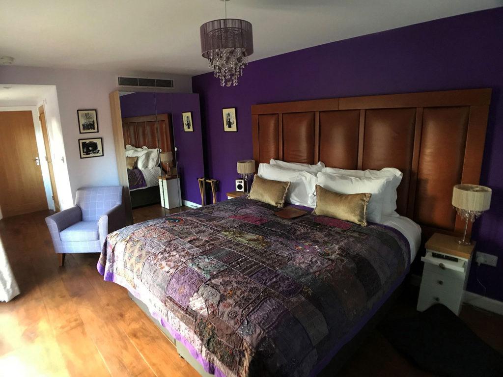 Hempstead bedroom at boutique B&B