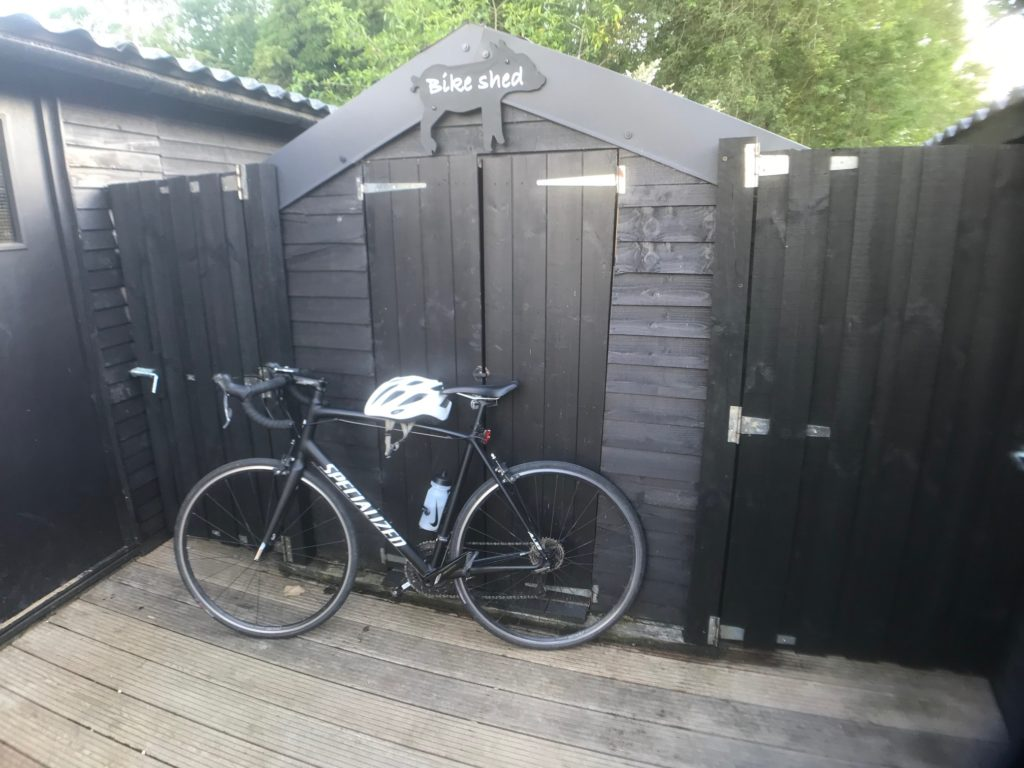 Secure your bike safely while staying at Piglets Boutique B&B