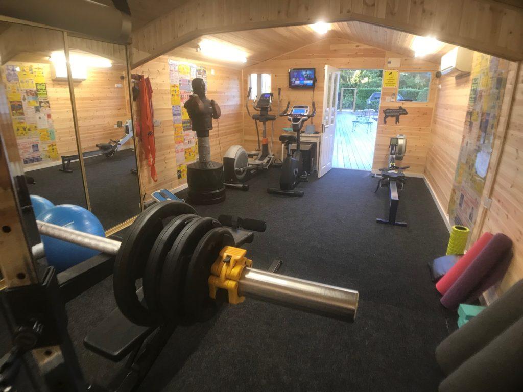 Piglets mini gym