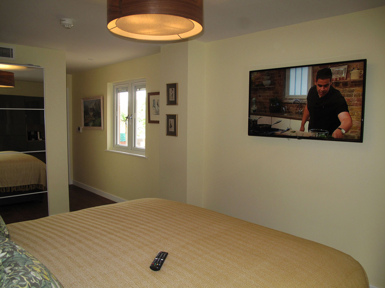 """Widdington 49"""" flat screen smart TV at Piglets Boutique B&B"""