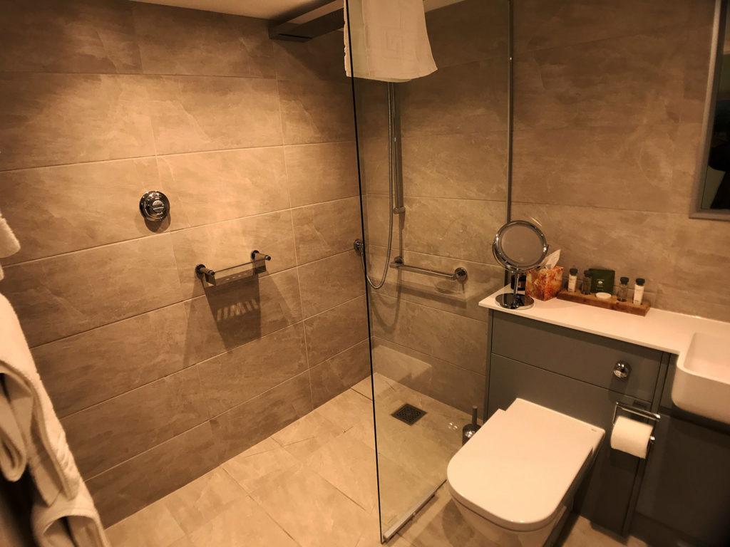 Hempstead en-suite wet room at luxury B&B | Boutique B&B luxury wet room