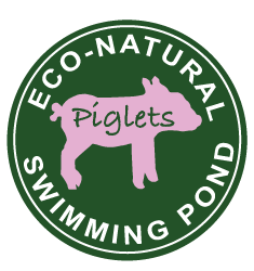 Swimming pond button | Piglets Boutique B&B