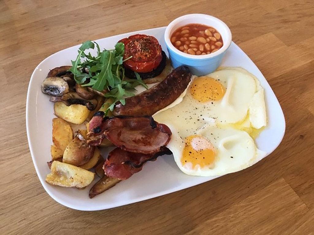 Full English | Best full English breakfast | Breakfast at B&B | Piglets full English | Piglets Boutique B&B breakfast