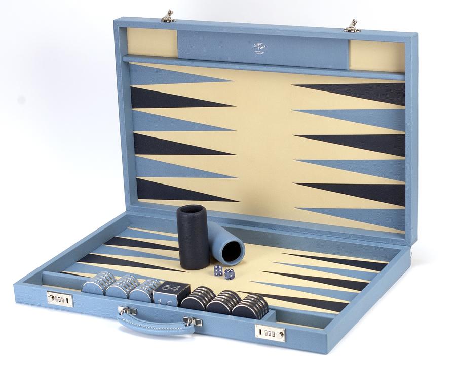 Geoffrey Parker's luxury Backgammon